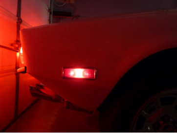 Incandescent Pantera Side Marker LED